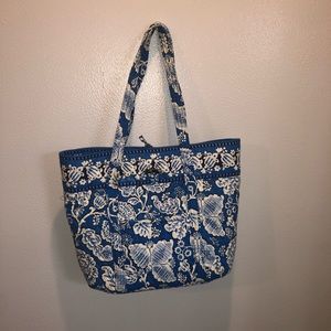 Vera Bradley Large Blue Tote Bag